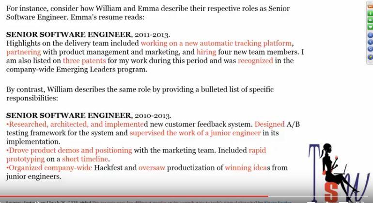 bridging the resume gap between genders tech savvy