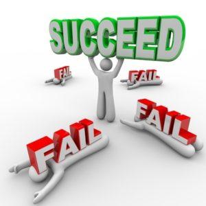 failing forward, success and failure