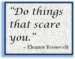 Be Scared and Go for It! - Tech Savvy Women