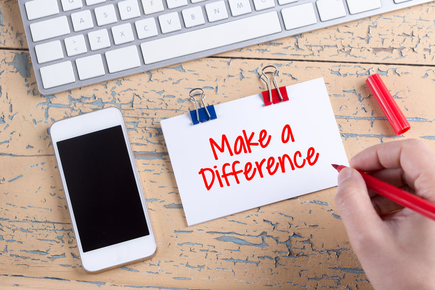 impactful work, make a difference