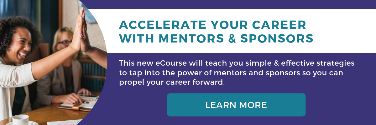 Tech Savvy Women - JJ DiGeronimo - How to Find Mentors, Sponsors and Career Catalysts eCourse 2